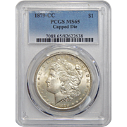 1879-CC Pcgs MS65 Capped Die Morgan Dollar