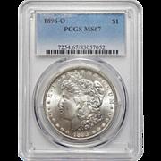 1898-O Pcgs MS67 Morgan Dollar