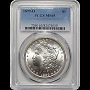 1899-O Pcgs MS65 Morgan Dollar