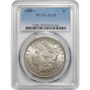 1888-S Pcgs AU58 Morgan Dollar