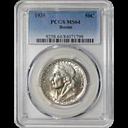 1935 Pcgs MS64 Boone Half Dollar