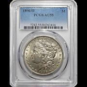 1896-O Pcgs AU55 Morgan Dollar