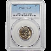 1916 Pcgs PR65 Buffalo Nickel
