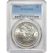 1903-S Pcgs MS66 Morgan Dollar