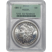 1904-O Pcgs MS63PL Morgan Dollar