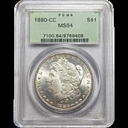 1880-CC Pcgs MS64 Morgan Dollar