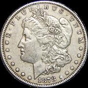 1878 7TF Reverse of 1878 XF45 Morgan Dollar