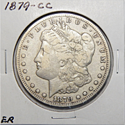 1879-CC F12 Morgan Dollar