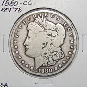 1880-CC G6 Morgan Dollar