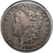1880-CC F12 Morgan Dollar