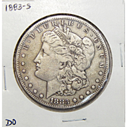 1883-S VF25 Morgan Dollar