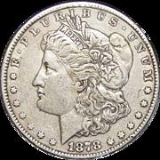 1878 7TF Reverse of 1879 XF45 Morgan Dollar