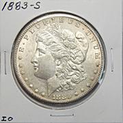 1883-S AU53 Morgan Dollar