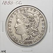 1883-CC XF40 Morgan Dollar