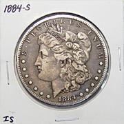 1884-S VF30 Morgan Dollar
