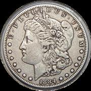 1884-S XF40 Morgan Dollar