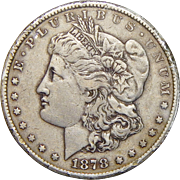 1878-CC Morgan Dollar (Rim Damage)