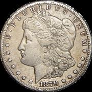 1879-CC Morgan Dollar (Slight Rim Damage)