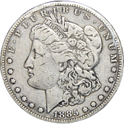 1885-S VF20 Morgan Dollar