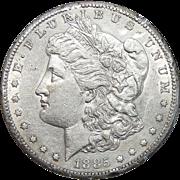 1885-S Morgan Dollar (Rim Nick)