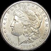 1885-S AU58 Morgan Dollar