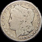 1885-CC AG3 Morgan Dollar