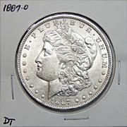 1887-O AU50 Morgan Dollar