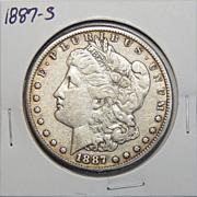1887-S VF20 Morgan Dollar