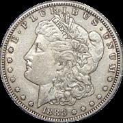 1888-S AU53 Morgan Dollar