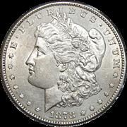 1878-S AU58 Morgan Dollar