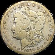 1886-S AG3 Morgan Dollar
