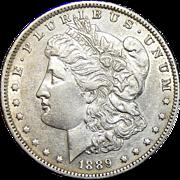 1889-O AU50 Morgan Dollar