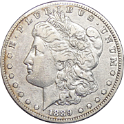 1889-S XF40 Morgan Dollar