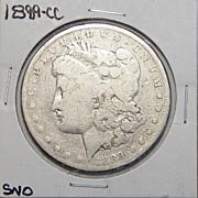 1889-CC G6 Morgan Dollar