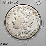 1889-CC VG8 Morgan Dollar