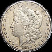 1879-S Reverse of 1878 XF45 Morgan Dollar
