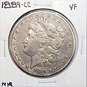 1889-CC VF35 Morgan Dollar