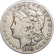 1879-CC F12 Morgan Dollar