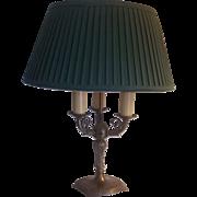 Ornate Bouillotte Table Lamp