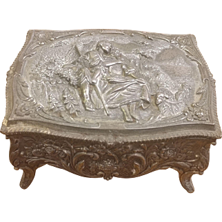 Casket Trinket Jewelry Box