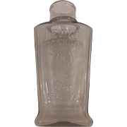 Embossed Lewis Packing Co San Francisco Bottle