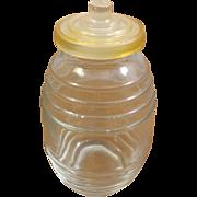 Vintage Glass Bottle Toothpick Holder