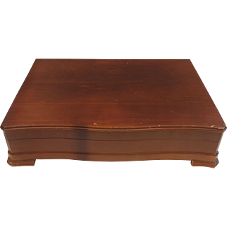 Oneida Community Silverware Flatware Storage Case Chest Box