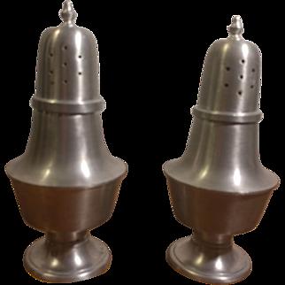 Woodbury Pewterers Salt & Pepper Shakers