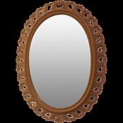 Vintage Syroco Wall Mirror