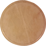 "Round White Marble 12"" Cheese Cutting Board"