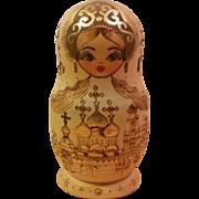 Russian Matryoshka 7 Set Nesting Dolls
