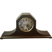 Vintage New Haven Key Wound Mantle Shelf  Clock
