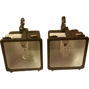Pair of General Electric Flood Lights