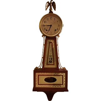 Mid Century Seth Thomas Brookfield Banjo Clock